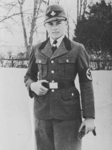 A young Michael Wittmann in the uniform of the Reichs Arbeitsdienst (RAD) in which he served from February 1934 before beginning his first stint in the regular Army