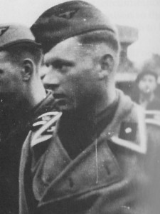 A Photograph of the then twenty-seven year old Michael Wittmann in the uniform of an SS-Unterscharführer, taken in Greece sometime in the late Spring of 1941