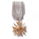 Royal Bulgarian Soldiers Cross of the Order of Bravery 2nd Class