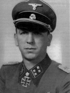 "Kurt ""Panzermeyer"" Meyer, who would become one of the the division's legends"