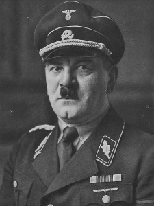Julius Schreck, one of the founders of the fledgling Stosstrupp Adolf Hitler