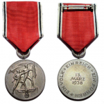 Anschluss Medal, 13th March 1938
