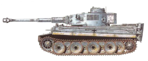 Wittmann's first Tiger, the 4th Company 411