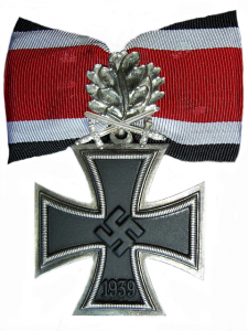 Das Ritterkreuz des Eisernes Kreuzes mit Eichenlaub und Schwerter (The Knight's Cross of the Iron Cross with Oakleaves and Swords)