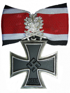 Das Ritterkreuz des Eisernes Kreuzes mit Eichenlaub, Schwerter und Brillianten (The Knight's Cross of the Iron Cross with Oakleaves, Swords and Diamonds)