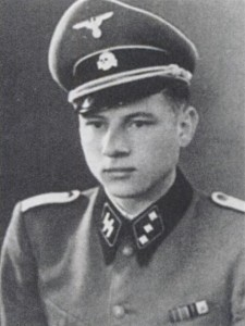 Wittmann in the uniform of an SS-Untersturmführer after officer training, 1942