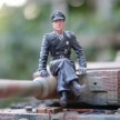 FoV Tiger 007 Michael Wittmann figure on turret