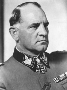 "Josef ""Sepp"" Dietrich, eventual commander of the Leibstandarte SS Adolf Hitler"