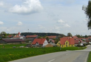 The village of Vogelthal, Michael Wittmann's birthplace