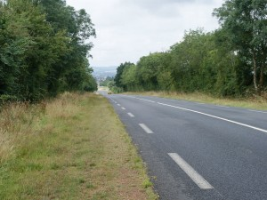 A section of the redesignated D 675 towards Villers-Bocage today